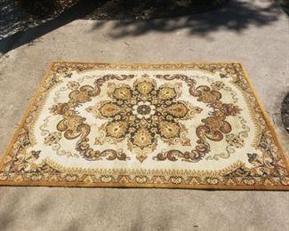 8x6 Wool Oriental Rug