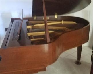 001 Antique Baldwin Baby Grand Piano