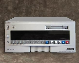 SONY DSR-85 DVcam Video Tape Recorder