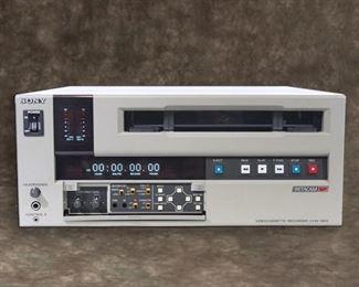 SONY UVW-1800 BetaSP Video Tape Recorder