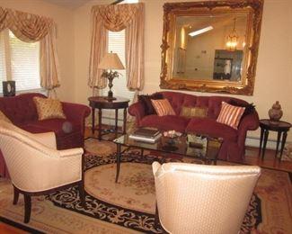 Stunning Custom D & D NYC Living Room Suite