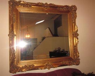 Large Gold Gilt Mirrors