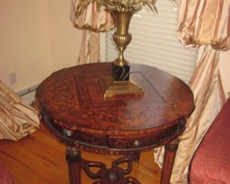 Inlaid Accent Tables