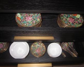 Tons of Asian Dinnerware