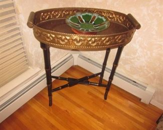 Inlaid Server Table