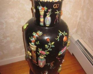Large Ornate Urns