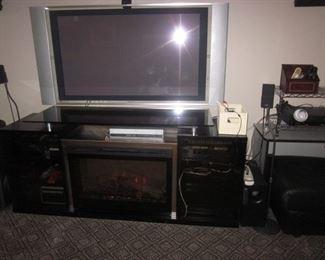 Beautiful Fireplace/Heater Entertainment Unit