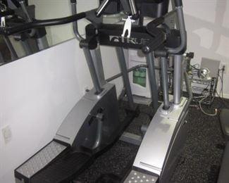 Hoist V6 Exercise Universal Exercise Room Filled ~ Weights ~ Exercise Bike  True Elliptical