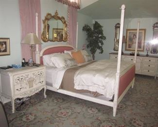 Beautiful White Washed Oak Bedroom Suite