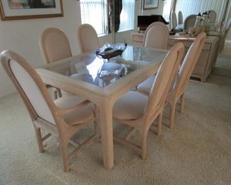 Dining room by America Drew. Can be sold now but removed later
