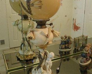 Messengers Birmingham England lamp. Outstanding!