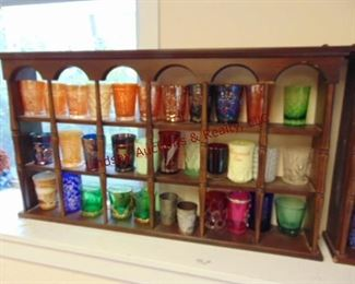 LOT 13 DISPLAY WITH GLASSES