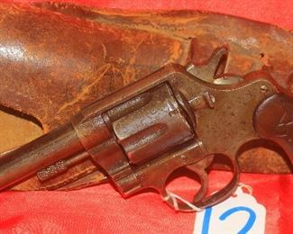 """12COLT PA45 190945REVOLVER5 1/2"""", LEATHER HOLSTER"""