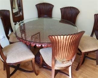 Palm Tableand Chairs