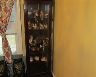 Tall Curio Cabinet