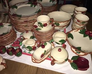Franciscan Apple Dishes