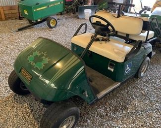 EZ Go Golf Cart & John Deere Pull #15 Behind Cart 16,060 lb. Capacity!