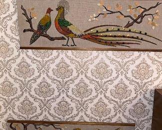 VINTAGE ART -BIRDS