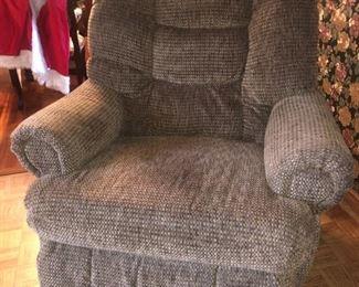 Comfy rocker/recliner!