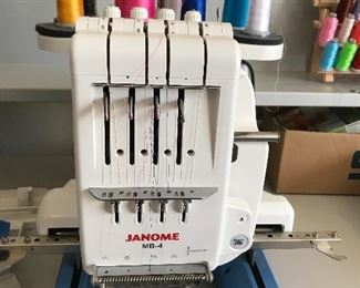 Janome MB-4 Embroidery Commercial Machine