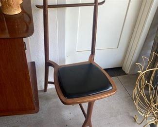 "Mid Century ""Roberto Lazzaroni"" Valet chair"