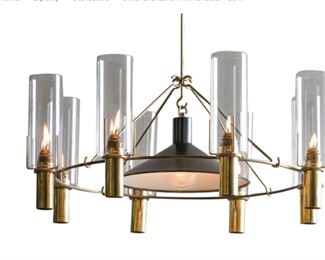 Vintage Robert Long Oliver Chandelier  http://robertlonglighting.com/oliver-chandelier-with-reflector-5079/