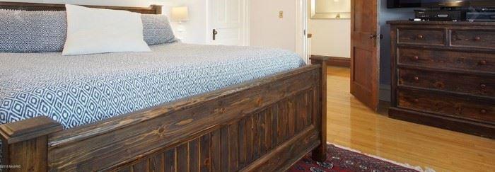 king bed frame & dresser