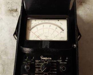 Simpson Model 260-6M Ohms Meter