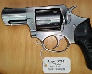 Ruger SP101.357 Mag575-35### PPGS 95-98%