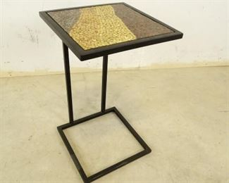 Glass Mosaic Side Table