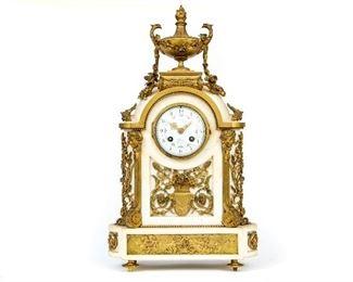 Extraordinary Really Fine French Bronze Clock Of Linke Quality