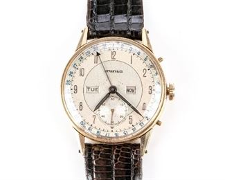 Tiffany & Co. Gold Watch From The Estate Of Claudius Philippe - Working