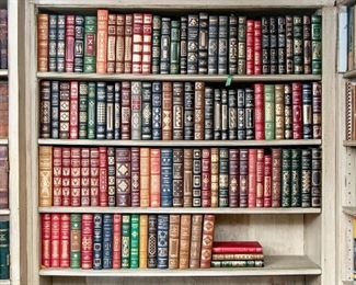 110 Beautiful Franklin Mint Leatherbound Books