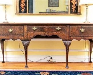 English Walnut Welsh Dresser Ca. 1900