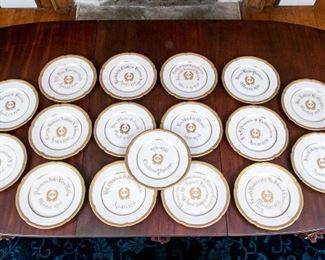 17 Service Plate For Board Of Directors Include Claudius Charles Philippe From Waldorf Astoria