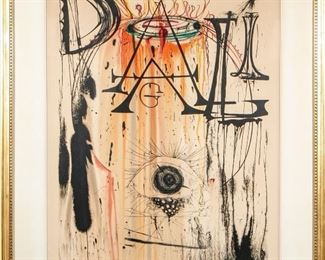 Dali Jewelry Eye Done For An Exhibition At Wally Findlay Gallery Ltd. Ed. Print