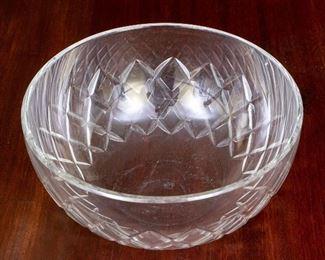 Baccarat Crystal Large Bowl