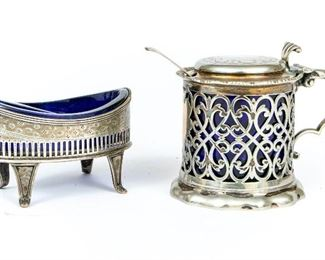 Sterling Silver And Silverplate Tabletop Items