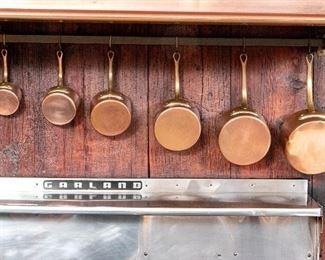 6 Pieces French Etablissements Allez Freres Paris Cookware - LOT# 2
