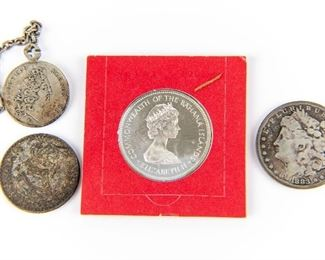 Estate Coin Lot Of Four Items