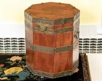 Vintage Brass Bound Tinder Box