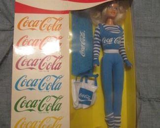 Coca-Cola Barbie Doll