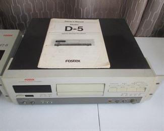 Fostex  D-5 Digital Master Recorder