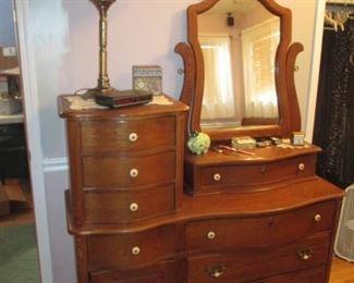 Bow Front Dresser