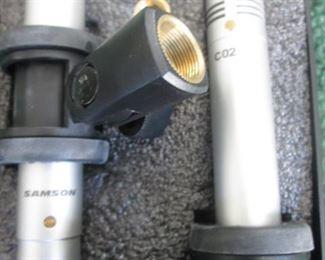 Samson CO2 Microphones