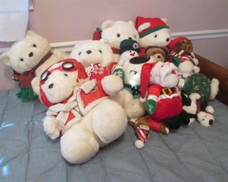 Assortment Stuffed Animals