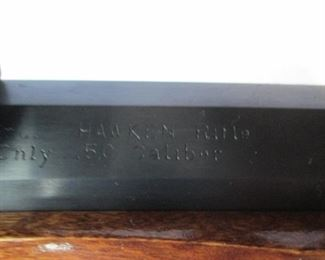 Hawken 50 cal. Black Powder