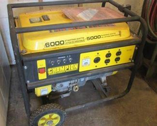 Champion 6000 Watt Generator