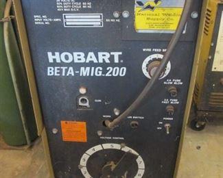 Hobart Beta Mig. 200 Wire Welder