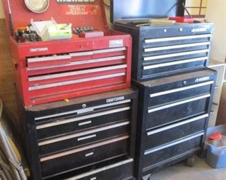 Craftsman Tool Chest  ( Filled with Tools )